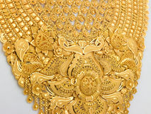 Gold jewels Stock Image