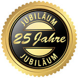 Gold jubilee seal Stock Images