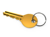 Gold key Stock Images