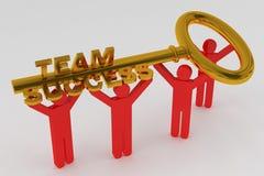 Free Gold Key To Success Royalty Free Stock Photo - 37409305