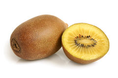 Gold kiwi fruit Royalty Free Stock Images