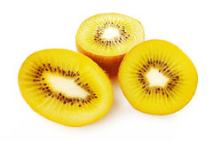 Gold kiwi fruit Royalty Free Stock Photography