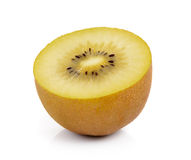 Gold kiwi fruit on white background Royalty Free Stock Images