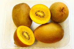 Gold Kiwi Fruits Stock Photos