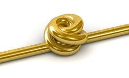 Gold Knot Stock Photos