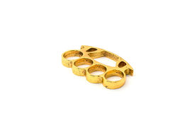 Gold knuckle Royalty Free Stock Photography