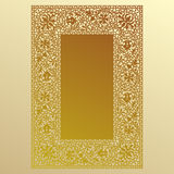 Gold Lace. Stock Photo