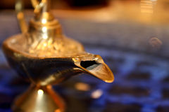 Gold Lamp  Stock Images