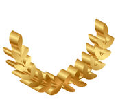 Gold laurels Stock Images