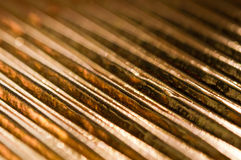 Gold Leaf Background Stock Photo