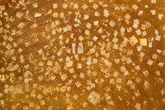 Gold leaf background Royalty Free Stock Image
