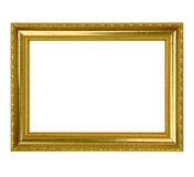 Gold Leaf Picture Frame Stock Photos