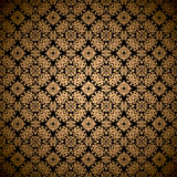 Gold leaf wallpaper Royalty Free Stock Photo