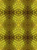 Gold leather. Golden yellow green, leather-like weaves Royalty Free Stock Photos