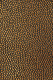Gold leather background Royalty Free Stock Photography