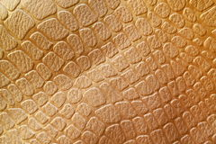 Gold Leather Background - Stock Photos. Gold Leather background - Golden book cover texture background or pc wallpaper stock photo