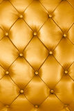 Gold leather texture Stock Images