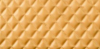 Gold leather texture. Gold leather texture as background royalty free stock photos