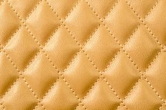Gold leather texture. Royalty Free Stock Photo