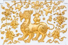 The gold leo Stock Images