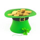 Gold leprechaun concept Royalty Free Stock Photos