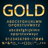 Gold letter Stock Photos