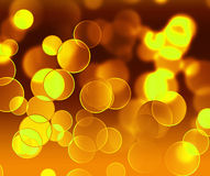 Gold light Royalty Free Stock Image
