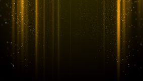 Gold light awards background. Gold lights line awards background Royalty Free Stock Photography