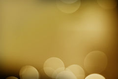 Gold light with Black background Stock Photo