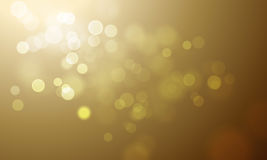 Gold light blur glitter or sparkling defocused vector background. Gold light blur effect vector premium background. Luxury sparkles and defocused golden glitter Stock Photo