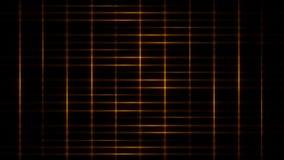 Gold Light Streaks Grid Loop Motion Background