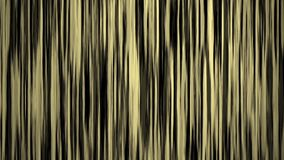 Gold light vertical stripe lines on black background, seamless loop ready stock video