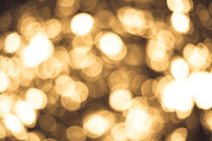 Gold lights Royalty Free Stock Photography