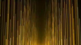 Gold lights streak awards background.  royalty free illustration