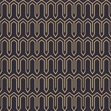 Gold lines eastern geometric pattern Stock Image