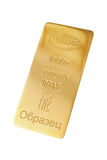 Gold lingo Stock Image