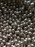 Gold Beads balls stock image