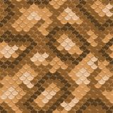 Seamless lizard skin pattern. Gold lizard skin. Seamless squama texture pattern Stock Images