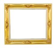 Gold-Louise-Fotorahmen Stockbild