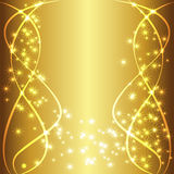 Gold Luxury Background Text Stock Images