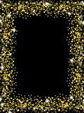 Gold luxury frame Royalty Free Stock Images