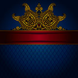 Gold Luxury Frame Royalty Free Stock Image