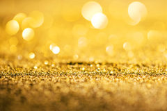 Gold luxury glitter abstract background royalty free stock photography