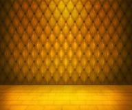 Gold Luxury Interior Stock Images