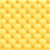 Gold luxury leather upholstery Stock Photos