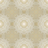 Gold luxury seamless vector background Stock Image