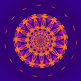 Gold Mandala Stock Image