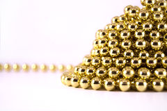 Gold Mardi Gras. Closed up photo of gold mardi gras stock image