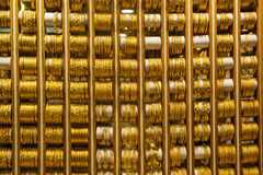 Gold market in Dubai Royalty Free Stock Photos