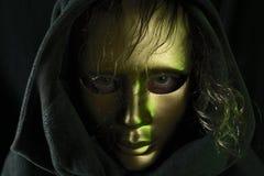 Gold mask Stock Photos